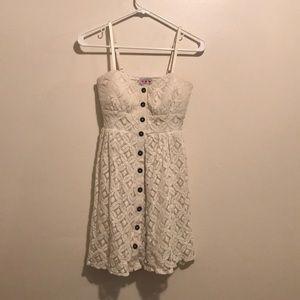 Dresses & Skirts - Button-Down Lace Dress